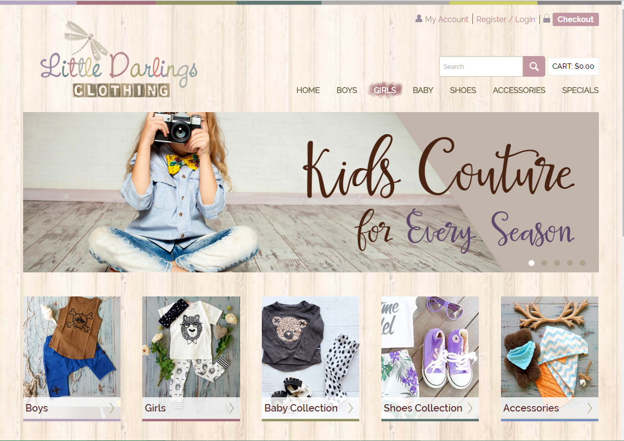 Little Darlings Clothing